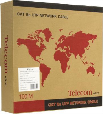 Кабель UTP 4 пары категория 6 Telecom TU634157 100м