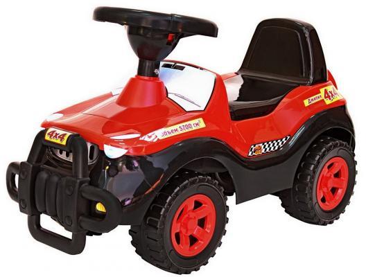 Каталка-машинка R-Toys Джипик черный от 8 месяцев пластик каталка на палочке s s toys вертолет желтый от 1 года пластик