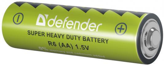 Батарейки Defender R6-4B AA 4 шт 56112 от 123.ru