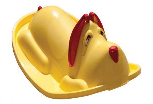 Качалка R-Toys Собачка пластик от 1 года желтый  С 106