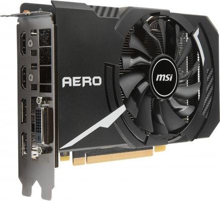 Видеокарта MSI GeForce GTX 1060 GTX 1060 AERO ITX 3G OC PCI-E 3072Mb 192 Bit Retail (GTX1060AEROITX3GOC)