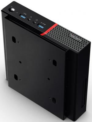 Компьютер Lenovo ThinkCentre Tiny M700 Intel Core i3-6100T 4Gb SSD 128 Intel HD Graphics использует системную Windows 10 Professional черный 10HY006HRU