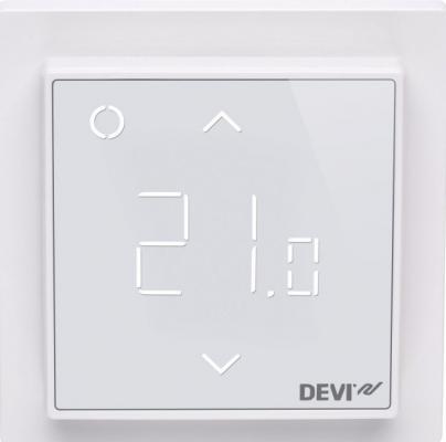 Терморегулятор DEVIreg Smart 140F1141 терморегулятор devi devireg smart интеллектуальный с wi fi белый 16 а