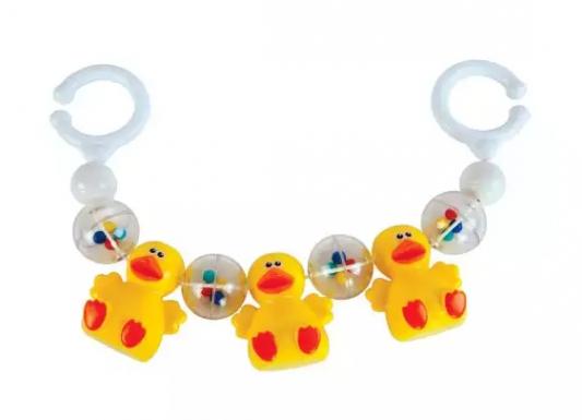 Интерактивная игрушка Жирафики Забавные утята с рождения интерактивная игрушка жирафики волшебная полянка с рождения