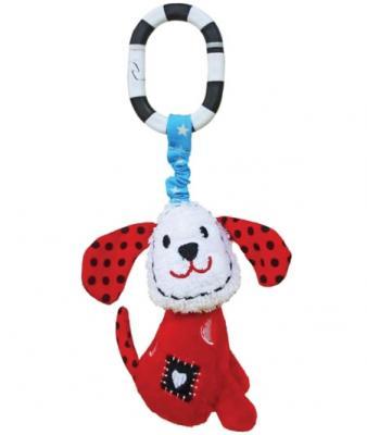 Развивающая игрушка Жирафики Подвеска с колокольчиком Щенок Макс 939340 развивающая игрушка жирафики подвеска с колокольчиком и прорезывателем собачка билли 939329