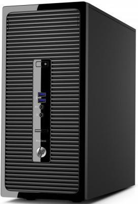 Системный блок HP ProDesk 400 G3 i3-6100 3.7GHz 4Gb 1Tb DVD-RW Win10Pro клавиатура мышь черный 1EX74ES
