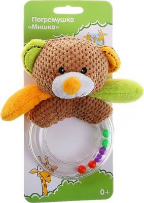 Погремушка Жирафики Мишка Вилли  93674 жирафики развивающая игрушка цветной мячик в ассорименте жирафики