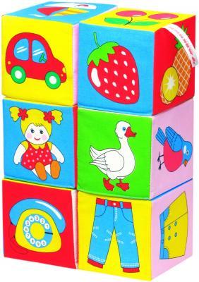Кубики МЯКИШИ Предметы 6 шт в ассортименте 1