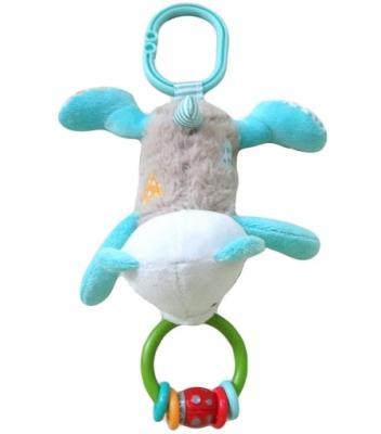 Развивающая игрушка Жирафики подвеска-погремушка Мишка Митя 939460 жирафики развивающая игрушка подвеска веселые малыши