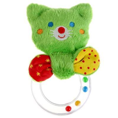 Погремушка МЯКИШИ ШуМякиши Мистер Том с колечком 356 игрушка погремушка мякиши медвежонок колечко
