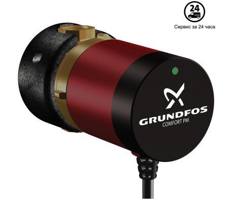 Насос поверхностный Grundfos UP 15-14 B PM 0.6 куб. м/час 25 Вт насос поверхностный grundfos mq 3 35 b 3 9 куб м час 850 вт