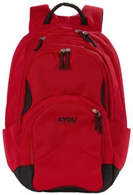 Рюкзак с отделением для ноутбука 4YOU FLOW 26 л красный 4you рюкзак flow
