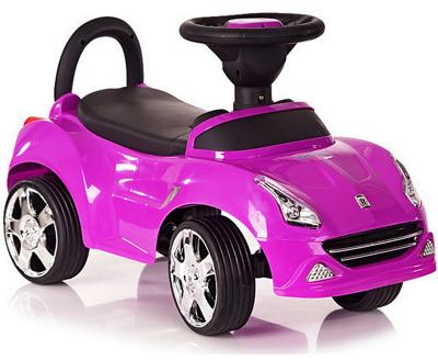 Каталка-машинка R-Toys Ferrari фиолетовый от 1 года пластик 150124