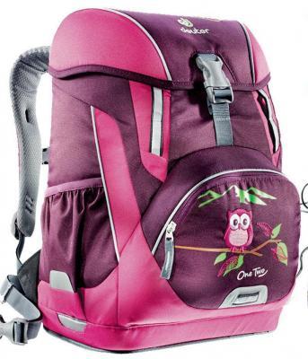 Школьный рюкзак с наполнением Deuter OneTwo Сова 20 л бордовый