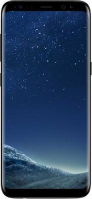 Смартфон Samsung Galaxy S8 черный бриллиант 5.8 64 Гб NFC LTE Wi-Fi GPS 3G SM-G950FZKDSER смартфон samsung galaxy s7 edge синий 5 5 32 гб nfc lte wi fi gps 3g sm g935fzbuser