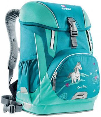 Школьный рюкзак Deuter OneTwo - Лошадка 20 л голубой 3830116-3037-0 рюкзак детский deuter deuter рюкзак deuter junior голубой