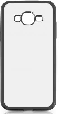 Чехол силиконовый DF sCase-36 для Samsung Galaxy J2 Prime/Grand Prime 2016 с рамкой черный чехол силиконовый df scase 34 для samsung galaxy j2 prime grand prime 2016