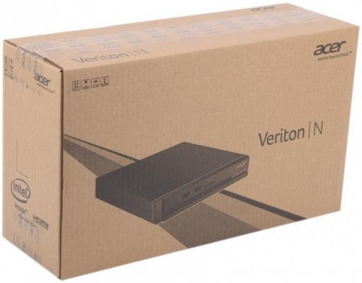 Неттоп Acer Veriton VN2510G Cel J3060 (3)/HDG/CR/Free DOS/GbitEth/клавиатура/мышь/черный DT.VNRER.025 от 123.ru