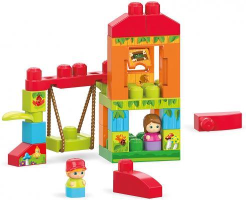 Конструктор MEGA BLOKS First Builders Веселые качели 29 элементов guide craft магнитный конструктор better builders career people