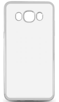 Чехол силиконовый DF sCase-29 для Samsung Galaxy J5 2016 с рамкой серебристый силиконовый чехол с рамкой для samsung galaxy j2 prime grand prime 2016 df scase 36 black