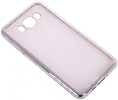 Чехол силиконовый DF sCase-30 для Samsung Galaxy J7 2016 с рамкой серебристый чехол df sslim 30 для samsung galaxy j2 prime grand prime 2016