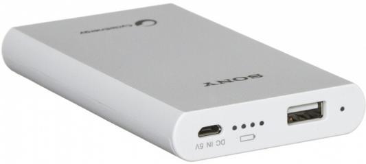 Портативное зарядное устройство Sony CP-E6W 5800мАч белый от 123.ru