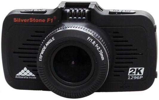 """Видеорегистратор Silverstone F1 A-70 GPS 2.7"""" 2560x1080 1.3Mp 170° microSD microSDXC датчик движения USB HDMI черный"""