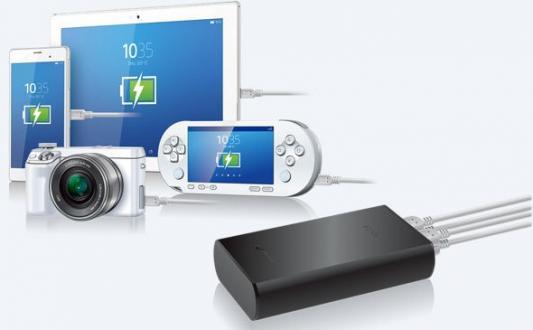 Портативное зарядное устройство Sony CP-S20B 20000мАч черный от 123.ru