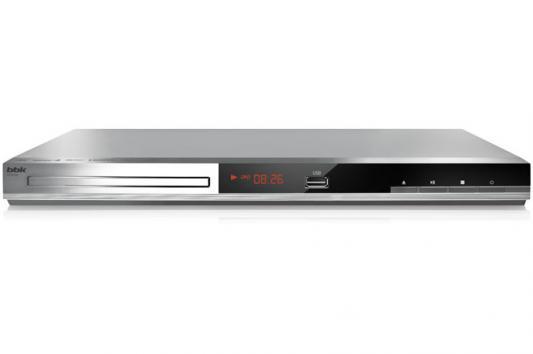 Проигрыватель DVD BBK DVP036S караоке серебристый