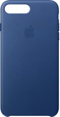 Чехол (клип-кейс) Apple Leather Case для iPhone 7 Plus синий MPTF2ZM/A
