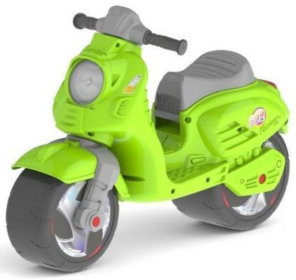 Каталка-мотоцикл RT Скутер зеленый ОР502 ледянка rt 2 пластик зеленый