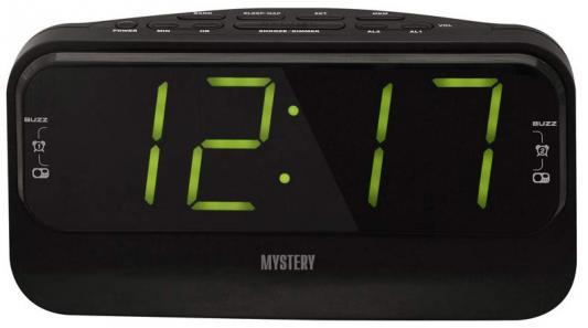 Часы с радиоприёмником MYSTERY MCR-68 чёрный