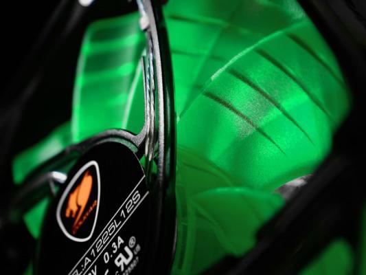 Вентилятор COUGAR CF-D12HB-G 120x120x25мм 3pin 1200rpm зеленый от 123.ru