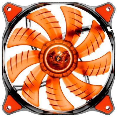 Вентилятор COUGAR CF-D12HB-R 120x120x25мм 3pin 1200rpm красный вентилятор cougar cf v12hp vortex pwm 120 120x120x25мм 4pin 800 1500rpm
