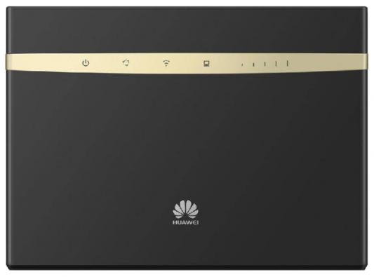 Беспроводной маршрутизатор Huawei B525 802.11aс 1300Mbps 2.4 ГГц 5 ГГц 4xLAN USB RJ-11 черный