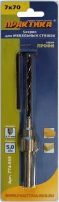 Сверло Практика для мебельной стяжки 7х70мм D 5мм 774-955