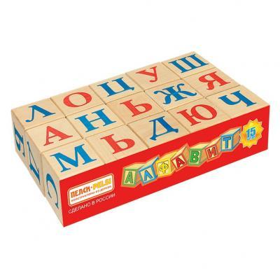 Купить Кубики Пелси Алфавит, 15 шт И669, Кубики и стенки
