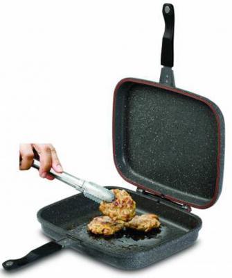 Сковорода-гриль Sinbo SP 5215 прямоугольная ручка несъемная (с крышкой) темно-серый от 123.ru