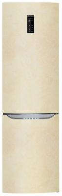 Холодильник LG GA-B429SEQZ бежевый холодильник lg ga b409ueqa бежевый