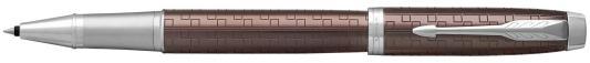 Ручка-роллер Parker IM Premium T324 Brown CT черный F 1931678