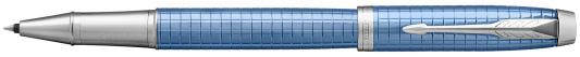 Ручка-роллер Parker IM Premium T322 Blue CT черный F 1931690 стоимость