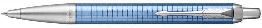 Шариковая ручка автоматическая Parker IM Premium K322 Blue CT синий M 1931691