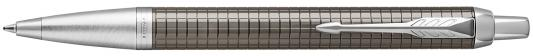 Шариковая ручка автоматическая Parker IM Premium K322 Dark Espresso CT синий M 1931683 ручка parker im premium dark espresso ciselled ct 1931682