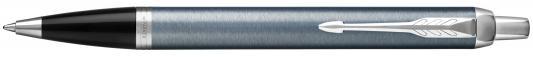 Шариковая ручка автоматическая Parker IM Core K321 Light Blue Grey CT синий M 1931669