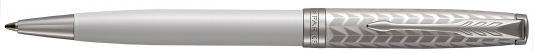 Шариковая ручка поворотная Parker Sonnet Premium K540 Metal&Pearl PGT CT черный M 1931550 parker шариковая ручка parker s0808170