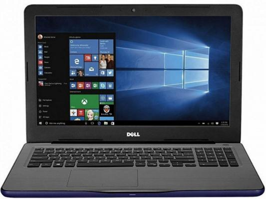 Ноутбук DELL Inspiron 5567 15.6 1920x1080 Intel Core i5-7200U 5567-8000 ноутбук dell inspiron 5567 5567 1998 5567 1998