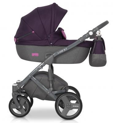 Купить Коляска 2-в-1 Riko Vario (04/purple), пурпурный, Коляски 2 в 1