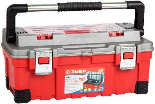 Ящик для инструмента Зубр Эксперт 22 пластмассовый 38135-22 сетка fit 38135