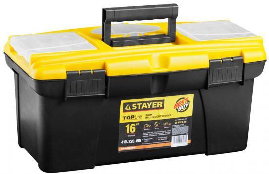 """Ящик для инструмента Stayer Standard 16"""" пластиковый с органайзерами 38105-16_z02"""