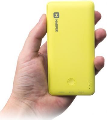 Внешний аккумулятор Harper PB-6001 6000 mAh желтый от 123.ru